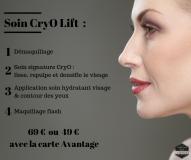 Soin-CryO-Lift le comptoir du visage