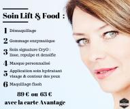 soin-lift-food le comptoir du visage
