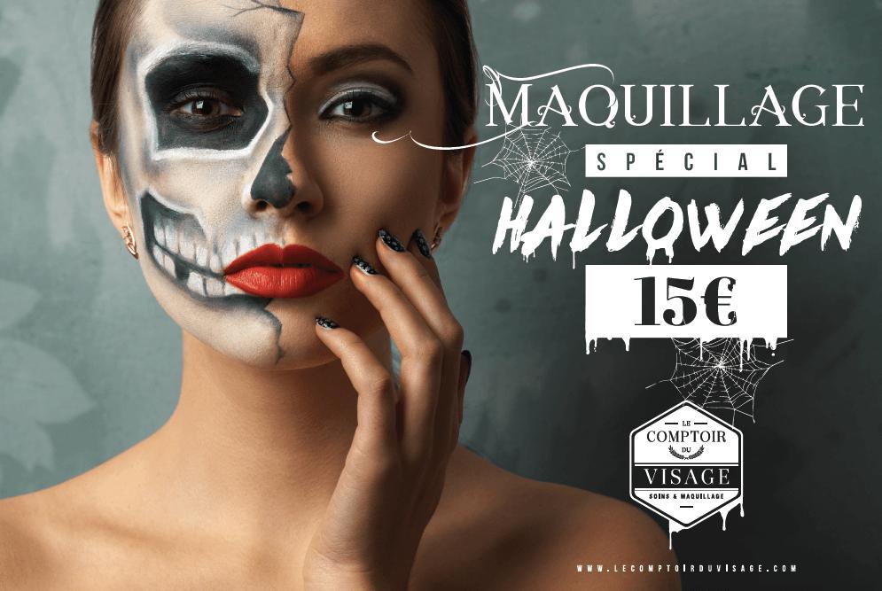 maquillage halloween le comptoir du visage