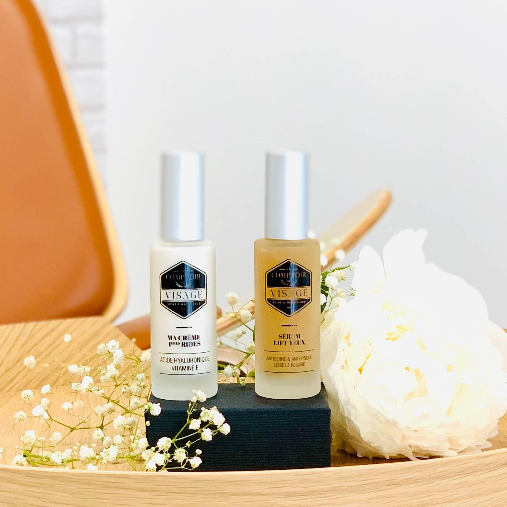 eau micellaire crème rides le comptoir du visage routine soins