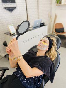 teint lumineux : masque personnalisé